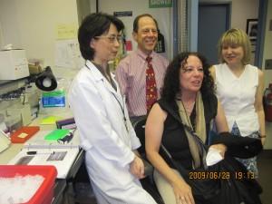 FOP labbet. Platsen, personerna bakom upptäckten av FOP genen.