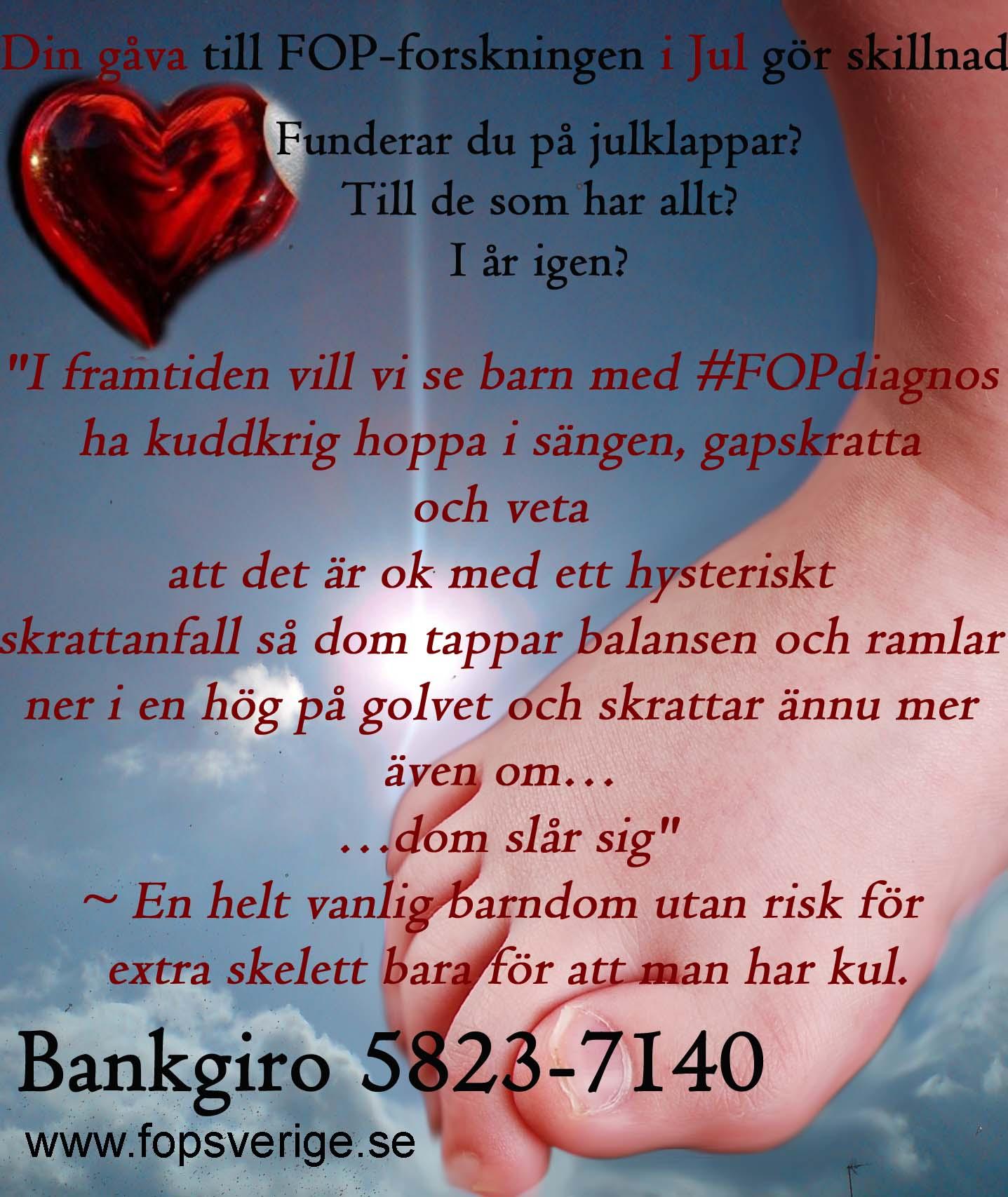God Jul önskar FOP Sverige