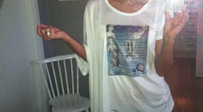 T-shirt för en #FOPambassadör till Arab Healt i Dubai