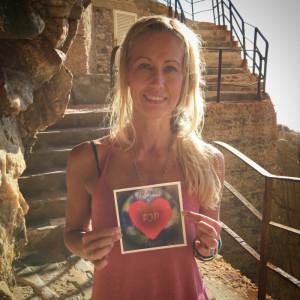 2017 Marie & The FOP Heart på Drug Development Forum for FOP på Sardinien.