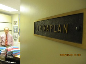Dr Kaplans kontor Philadelphia USA 2009.