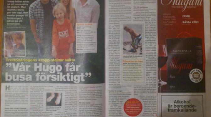 Insidan i tidningen Land