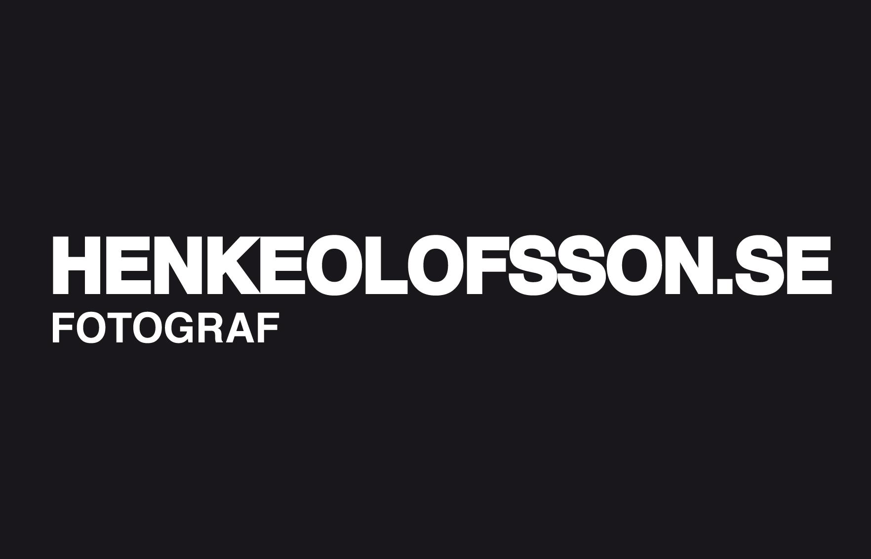 Fotograf Henke Olofsson