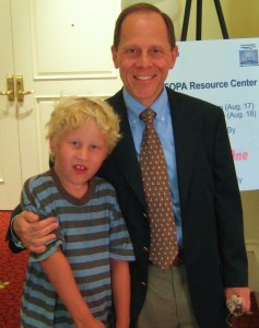 Hugo and Dr Kaplan at the FOP symposium in Orlando 2007