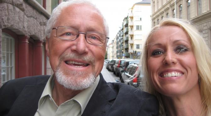 Hugos morfar Pehr och mamma Marie firar 115år till förmån för FOP forskningen