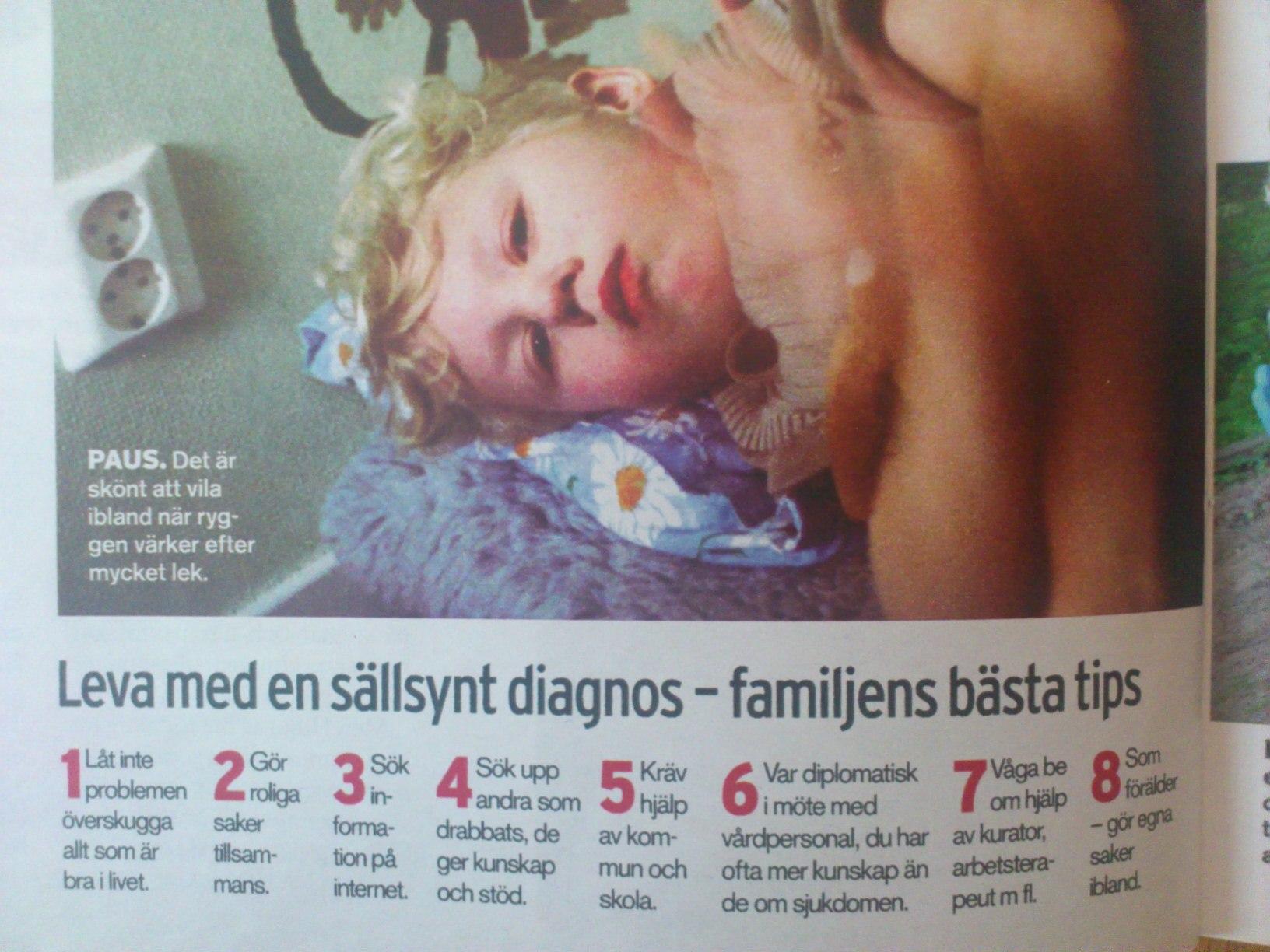 2004. Kloka tips :) Hugo i Aftonbladets Söndagsbilaga.