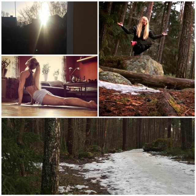 Skogen yoga