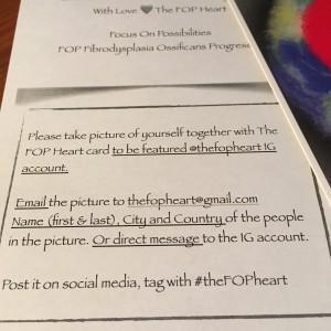 "Dela din ""FOP Heart bild"" på Instagram"