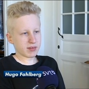 2015 Hugo Fahlberg intervju i SVT